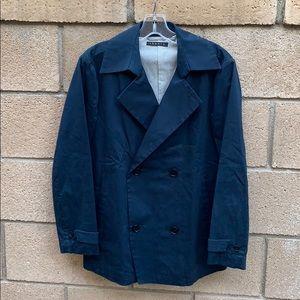 Theory navy pea coat